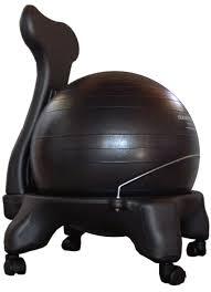isokinetics inc balance exercise ball chair with purple 52cm
