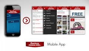 Overhead Door Coupon by Hamburg Overhead Door Inc Has Gone Mobile In The App Store