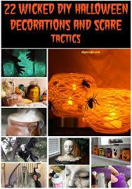 Diy Creepy Halloween Decorations 22 Wicked Diy Halloween Decorations And Scare Tactics Diy U0026 Crafts