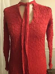 vintage dress 70 s slinky true vintage 70 s frank usher slinky crushed dress dress 8