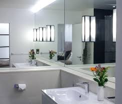 stick on bathroom mirrors how to glue a bathroom mirror to the wall unusual ideas design