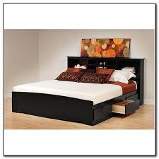 Storage Platform Bed Frame Chocolate by Stylish Bed Headboard And Frame Tall Nailhead Headboard Steel Gray