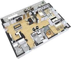apartments modern floorplans floor plans roomsketcher modern ki