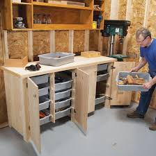 Basement Storage Shelves Woodworking Plans by Best 25 Workshop Cabinets Ideas On Pinterest Garage Cabinets