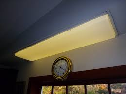 4 Ft Wraparound Fluorescent Ceiling Fixture by Fluorescent Light Fixture Covers Amazing 4 Foot Recessed