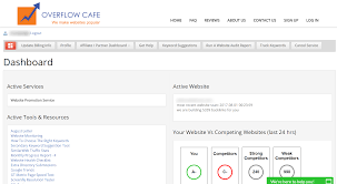overflow cafe makes seo easy with an affiliate program too