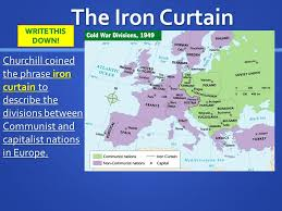 Who Coined The Phrase The Iron Curtain Presidents Of The United States Ppt Online Download