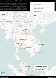Southeastern Asia Map by Southeast Asia A Notch In China U0027s Belt And Road Initiative