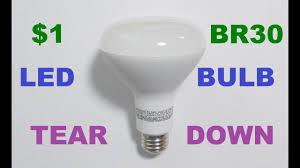 Led Flood Light Bulb Reviews by 1 Led Reflector Br30 Light Bulb Review And Teardown Youtube