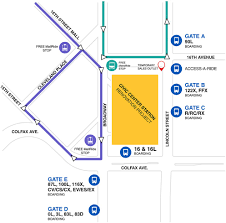 Pepsi Center Map Rtd Civic Center Station