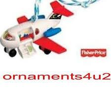 hallmark fisher price ornaments ebay