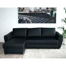 canapé angle noir canape d angle noir cuir canapac dangle noir en cuir 4 personnes