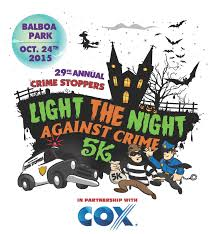 Balboa Park Halloween Activities by Crime Stoppers Light The Night Against Crime San Diego Ca 2015