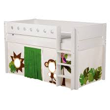 Mid High Bunk Beds Flexa White Mid High Sleeper With Ladder Flexa Bunk Beds