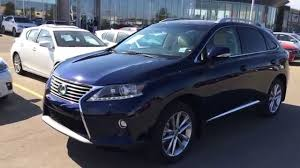 used 2015 lexus suv for sale new blue on parchment 2015 lexus rx 350 awd technology package