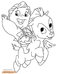 hercules pegasus coloring pages coloring