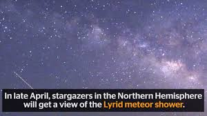 lyrid meteor shower 2017 how when and where to see the dazzling