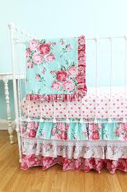 shabby chic crib bedding