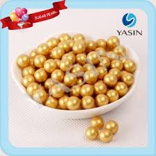 edible pearl edible gold balls for cake decorations buy gold sugar pearls