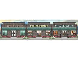 Build A Salon Floor Plan Strip Mall Plans U0026 Commercial Building Plans U2013 The House Plan Shop