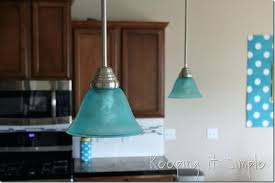 Blue Pendant Lights Aqua Pendant Lights Turquoise Pendant Light How To Dye A Light
