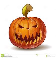 pumpkins scary 2 stock vector image 56859387