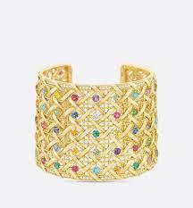 cuff bracelet with stones images Bracelets dior jpg