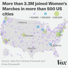 Where Is Washington Dc On The Map New Analysis The Women U0027s March In Washington Dc Drew Half A