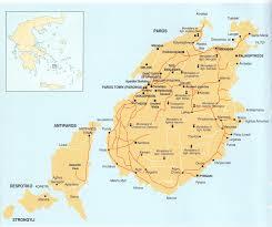 Aegean Sea Map Parosmap Jpg