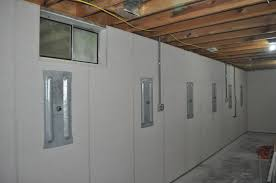 bowing basement walls straightened u0026 finished