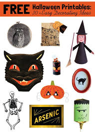 free halloween printables 30 easy decoration ideas from around