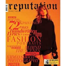 taylor swift reputation cd target exclusive magazine vol 1