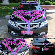 deco mariage voiture decoration voiture mariage sans fleur 073433 usbrio