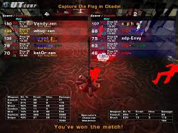 Games Like Capture The Flag Stats Scoreboards And A Little Nostalgia Unreal Tournament Forums