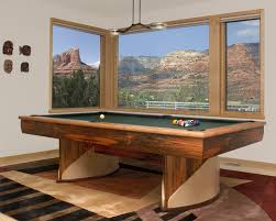 The Fusion Pool Table Is Unique In Its Ability To Go From Standard - Combination pool table dining room table