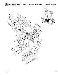 hitachi hu14 electric tool parts list user manual pdf download