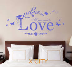 stupendous wall art stickers quotes ebay zoom leopard wall art mesmerizing wall art decor decal all you need is scroll tree wall decal art stickers nursery