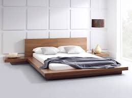 Platform Bed Uk Emer Walnut Bed Platform Beds Living It Up Living It Up