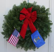 military tribute patriot pair christmas wreath wreaths