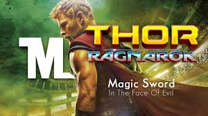 thor ragnarok official trailer song magic sword in the of