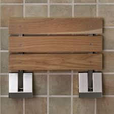 teak shower seat is perfect options u2014 the homy design