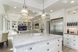 Kitchen Industrial Lighting Industrial Pendant In Casual White Kitchen Industrial Kitchen