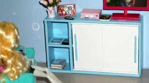how to make a sliding door cabinet for doll monster high barbie