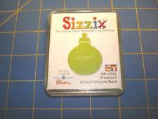 sizzix ornament green die 38 0242 included ebay