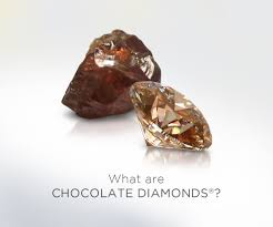 pink star diamond raw chocolatediamonds