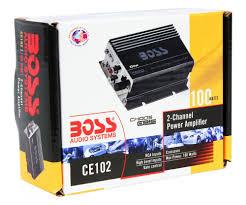 rca 100 watt dvd home theater boss ce102 100 watt 2 channel mini high power amplifier car amp