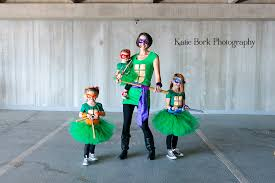Ninja Turtle Halloween Costume Girls Happy Halloween 2014 Katie Bork Photography