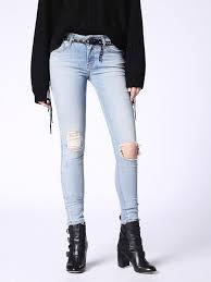 light blue skinny jeans womens diesel slandy 084mt super skinny jeans women light blue 00sxjn084mt