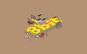 pixel art car pixels pixel art construction site men workers 8 bit car