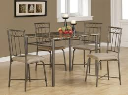 coaster fine furniture 150114 dinettes 5 piece dining set w leg